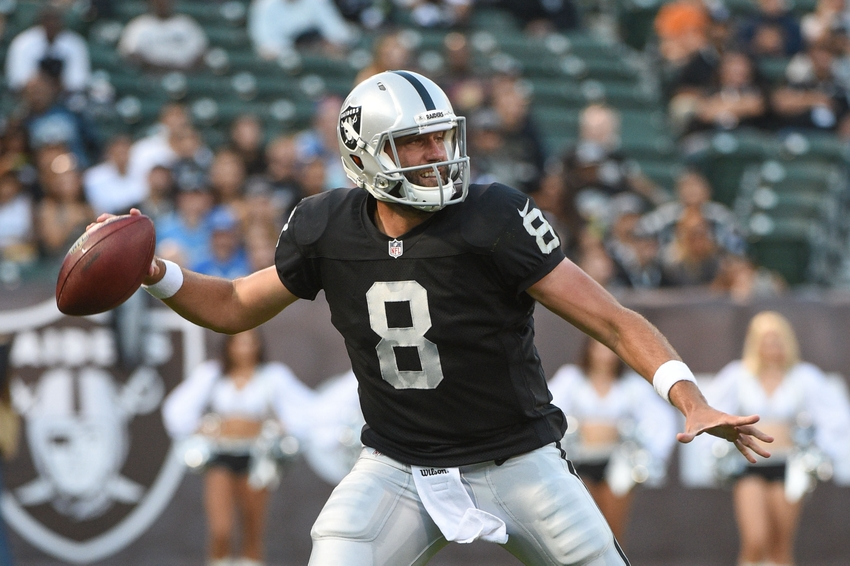 Oakland Raiders: Quarterback is not the issue anymore